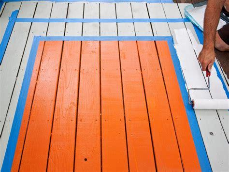 paint  deck diy