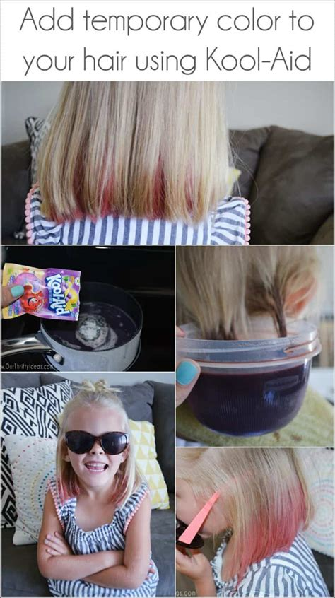 color hair with kool aid how to dye your hair with kool aid an easy way to add