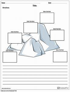 Plot Iceberg With Paragraph Storyboard By Worksheet