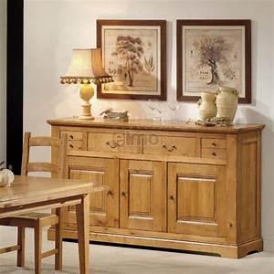 enfilade 3 portes 4 tiroirs chene massif de france patine With meuble de cuisine rustique 11 meuble entree chene massif de france 2 portes 5 tiroirs