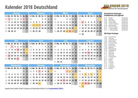kalender mit feiertagen ferien kalenderwochen