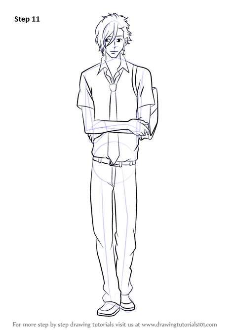 say draw yamato step drawing kurosawa tutorials anime manga tutorial learn