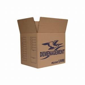 Carton De Déménagement Pas Cher : vente de carton de d m nagement pour livres ~ Melissatoandfro.com Idées de Décoration