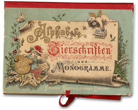 Letterology 19th Century Alphabet Portfolio