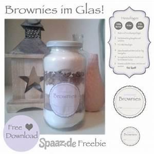 Brownies Im Glas : brownie backmischung im glas mit freebie etiketten geschenke bei handmade kultur ~ Orissabook.com Haus und Dekorationen