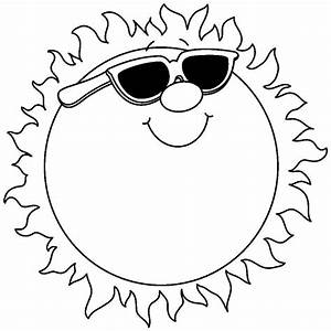 Cute Sunshine Clipart Black And White | www.pixshark.com ...