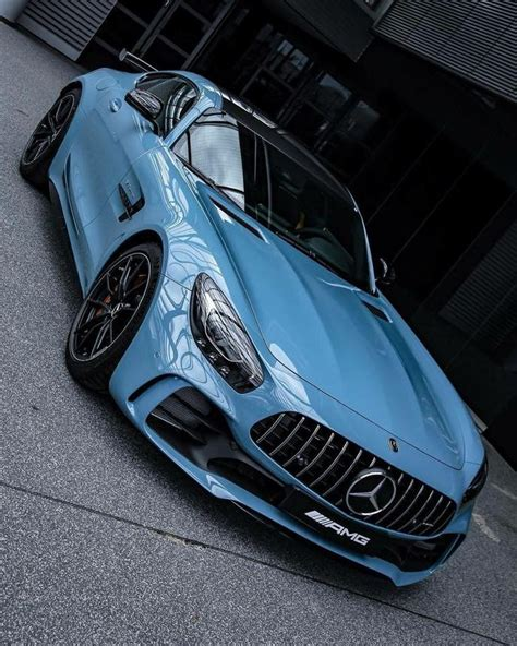 mercedes benz amg gt  coupe china blue cars