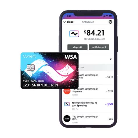 It can be used at atms, merchant outlets and online stores in india. Teen debit card Current now acts like a real bank account ...