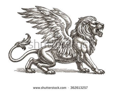 heraldic lion stock images royalty  images vectors