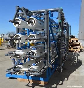 Used- Ionics Reverse Osmosis Skid. Consists of