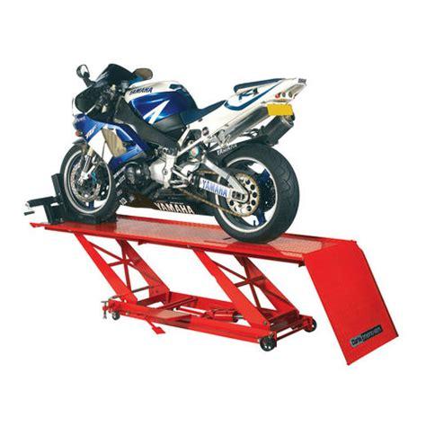 pedana sollevamento moto sollevatore pedana da officina idraulico per moto clarke