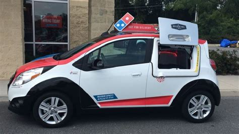 Dominos Pizza Cars by From The Oven To Your Taste Buds Domino S Rolls Out Pizza