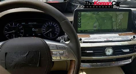 scooped  kia  interior revealed korean car blog