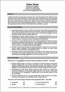 excellent example cv uk and international produced by With example of a good cv