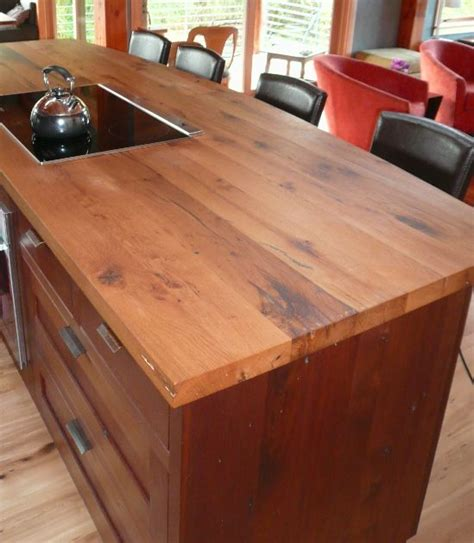 58 Cozy Wooden Kitchen Countertop Designs - DigsDigs