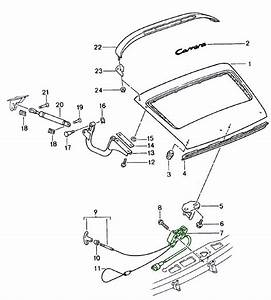 Buy Porsche 964  911   1989  Rear Lid    Locks And Latches