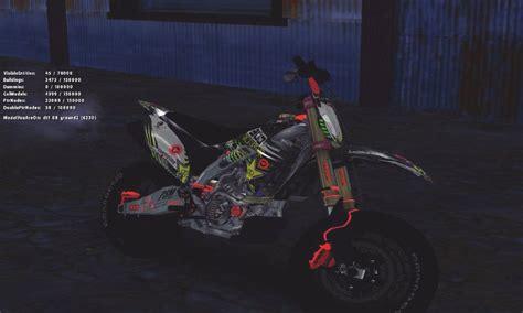 Kawasaki Kx Modification by Gta San Andreas Kawasaki Kx 125 Supermoto V2 High Modif