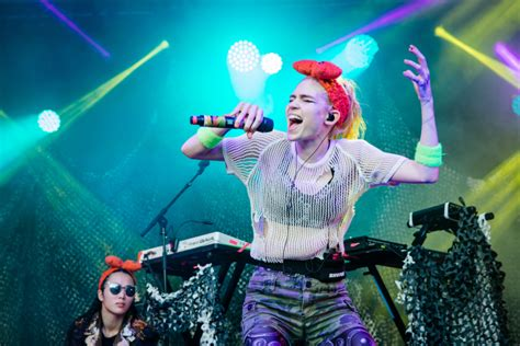 Grimes' 'we Appreciate Power' With Hana