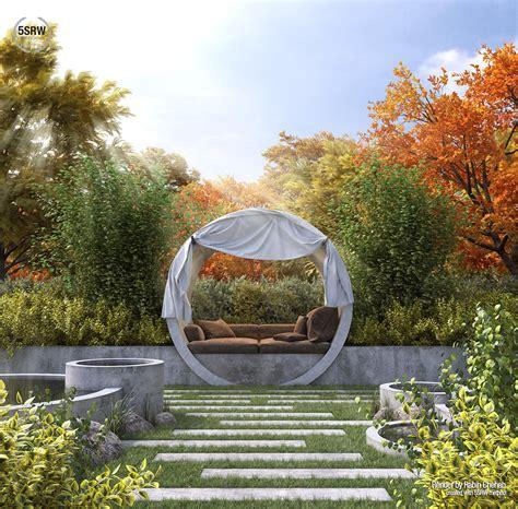 relaxing garden rabih chehab  srw