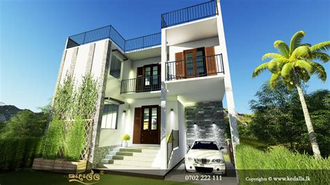 3d Box Type House Plans 2d Model Homes Home Plans|kedalla.lk