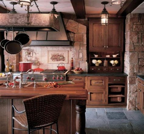 pictures of rustic kitchens enthralling large rustic kitchen islands from reclaimed wood with natural stone kitchen walls