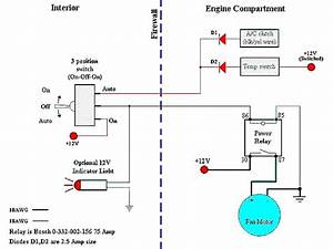 Does Anyone Have An Electric Fan Relay Diagram