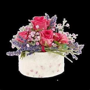 Rosen Und Lavendel : blumenstrau strau mit rosen und lavendel von fleurop auf ~ Yasmunasinghe.com Haus und Dekorationen