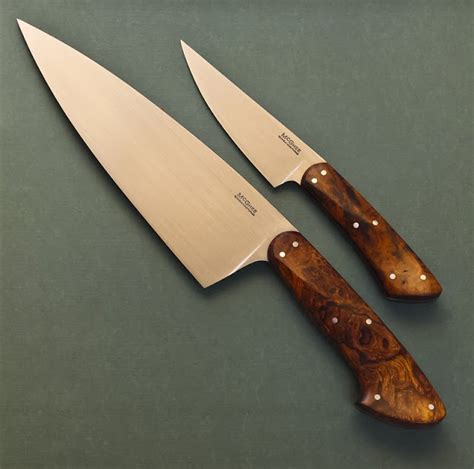 kitchen knife design guinea hog forge kitchen set in desert ironwood 2105