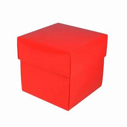 Box Square Gift Gloss Boxes Midi Lid