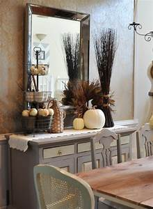 30 beautiful and cozy fall dining room decor ideas digsdigs With 7 creative ideas of dining room centerpieces