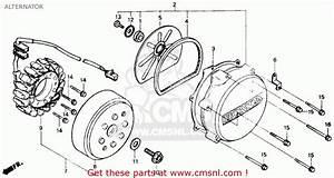 Honda Vtr250 Interceptor Vtr 1988 Usa Alternator