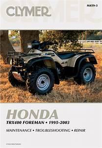 Honda Trx400 Foreman Atv  1995