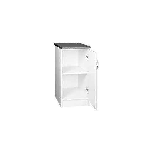 meuble cuisine 60 cm meuble de cuisine bas 1 porte 60 cm dina mélaminé avec 1