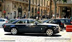 Rolls Royce France : rolls royce ghost spotted in paris france on 07 17 2013 ~ Gottalentnigeria.com Avis de Voitures