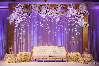 Stage Decoration Reception Decorations Flowers Backdrop Simple