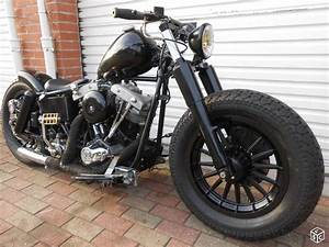 Harley Davidson Flh 1200 Shovel Shovelhead Bobber Motos