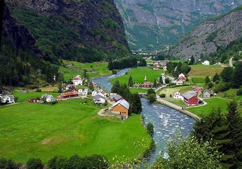 Top World Travel Destinations Flam Norway