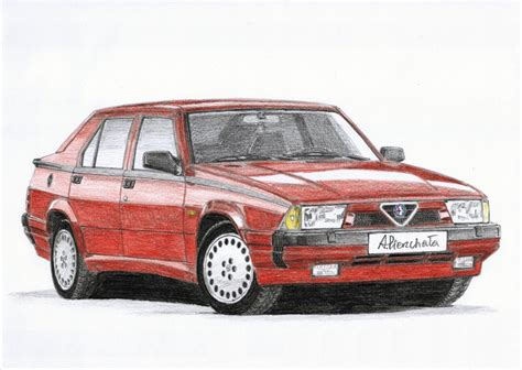 Alfa Romeo America by Alfa Romeo 75 3 0 V6 America Paper Garage By A