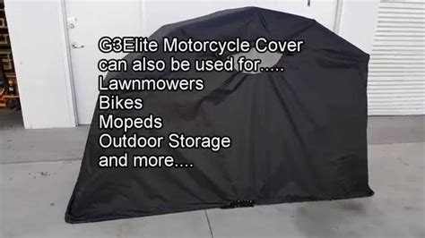Motorcycle Cover Retractable