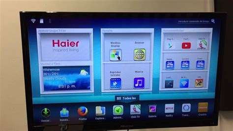 kit android smart tv haier revision youtube