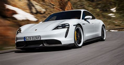 Porsche Taycan Turbo S revealed With 750 HP And Fully ...