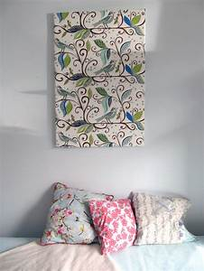 Wand Mit Stoff Verkleiden : memoboard und pinnwand selbermachen einfaches deko diy tutotrial ~ Bigdaddyawards.com Haus und Dekorationen