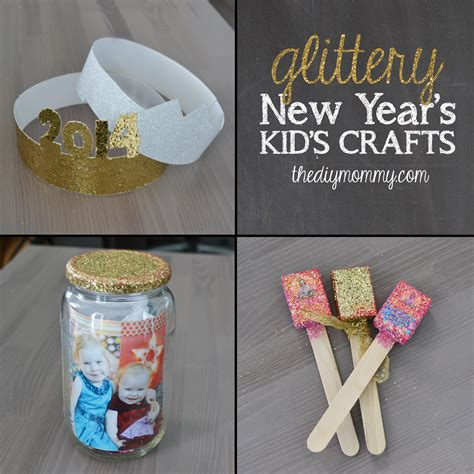 New Year's Crafts For Kids  Party Hats, Time Capsule