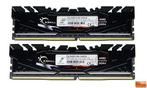 Gskill Flare X Series 16gb Ddr4 3200mhz Amd Memory Kit
