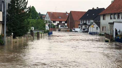 extremes unwetter  bad gandersheim orte von aussenwelt