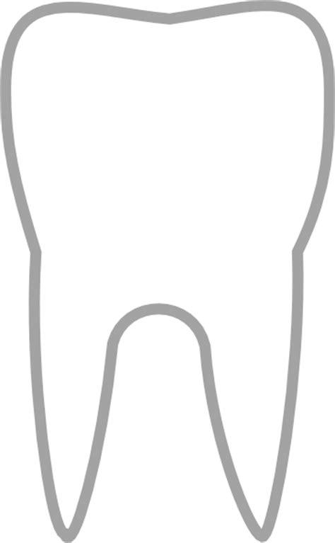 simple tooth icon clip art  clkercom vector clip art