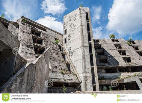 siege casino ruins of hotel stock photo image of ruin