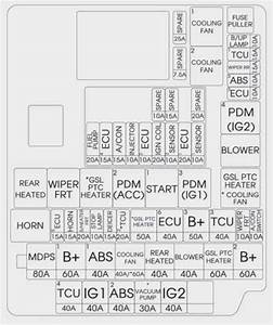 2002 Kia Fuse Box Diagram