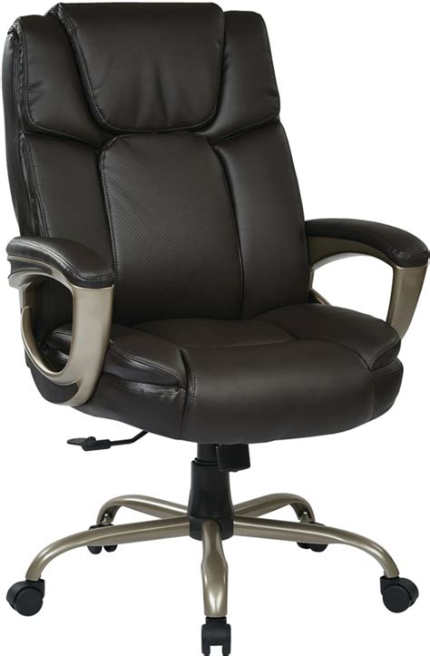 work smart executive big s eco leather chair with 350
