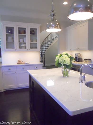 agreeable grey kitchen white carrera marble countertop transitional kitchen 268 | 3ca01166041e